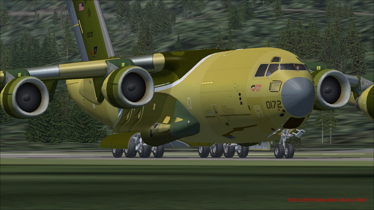 VIRTAVIA - C-17A GLOBEMASTER III FSX STEAM EDITION