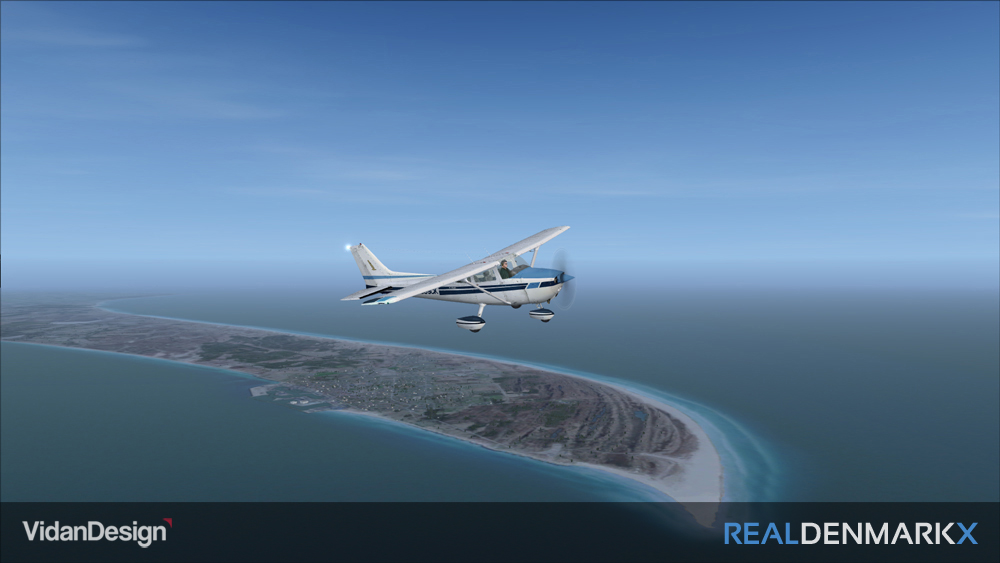 VIDAN DESIGN - REAL DENMARK X - JUTLAND NORTH FSX P3D
