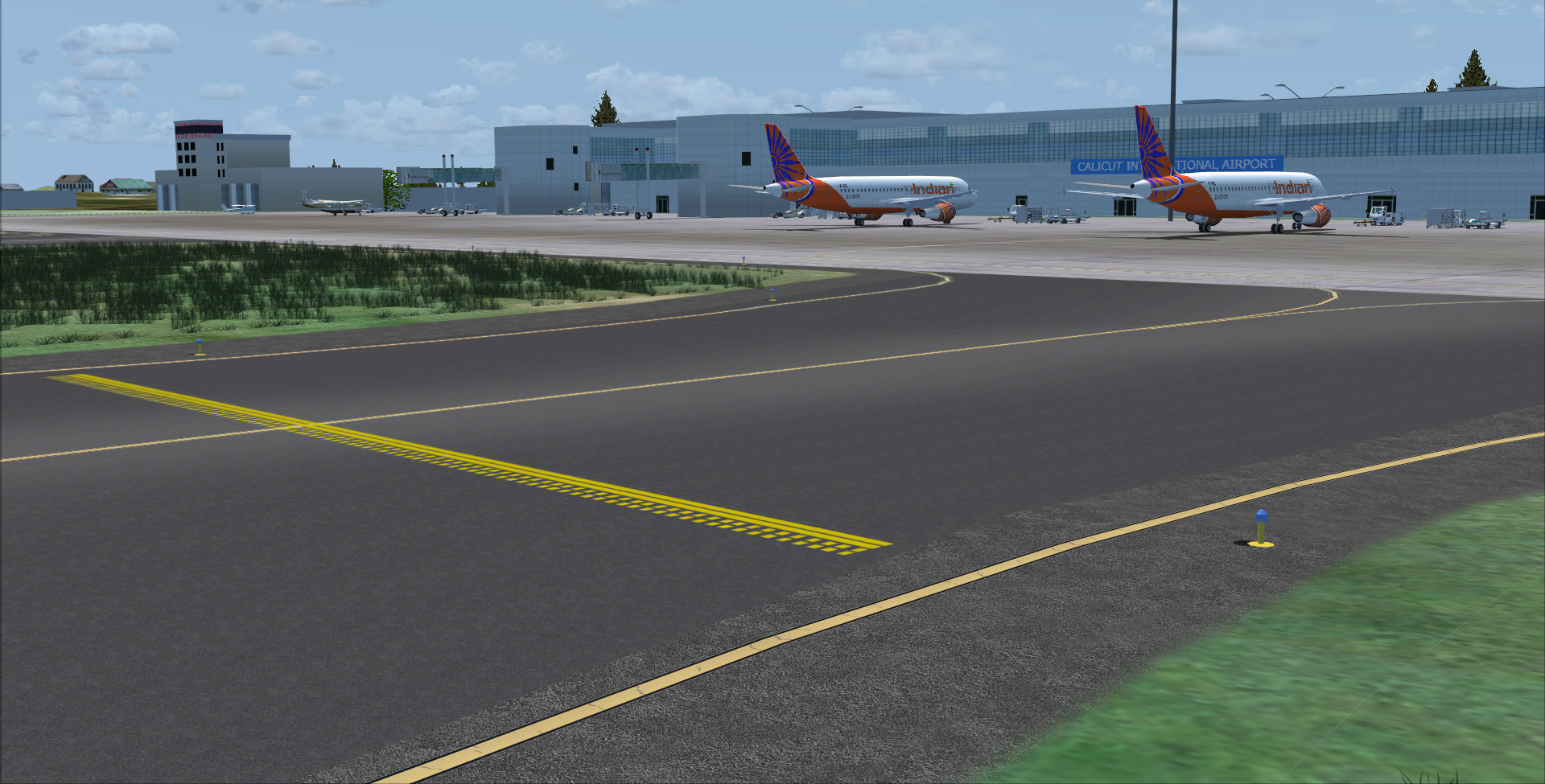 STINN PACIFIC - KARIPUR-CALICUT INTERNATIONAL AIRPORT VOCL FSX FSXSE