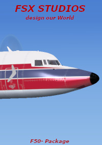 FSX-STUDIOS - HD-LIVERIES FOR VIRTUALCOL FOKKER F50