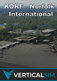 VERTICAL SIMULATIONS - KORF - NORFOLK INTERNATIONAL AIRPORT MSFS