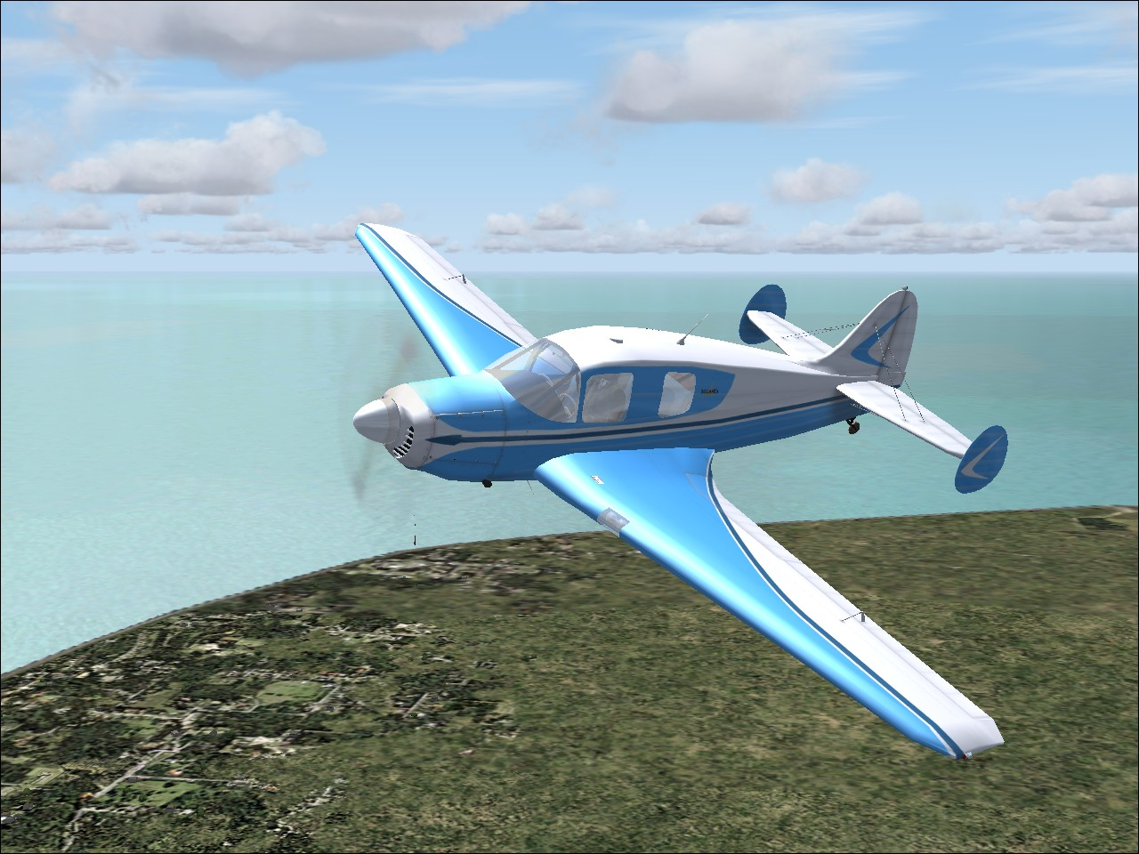 LIONHEART -  BELLANCA CRUISEMASTER BUILD2