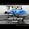 TURBINE SOUND STUDIOS - FOKKER 70/100 SOUNDPACK FOR FSX