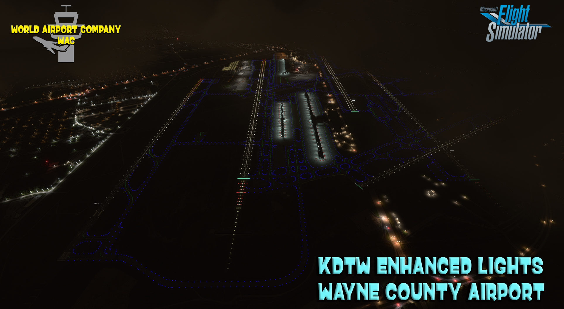 WORLD AIRPORT COMPANY - KDTW  DETROIT METROPOLITAN WAYNE COUNTY AIRPORT LIGHTS MSFS