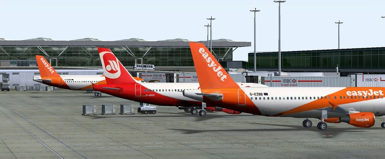 UK2000 SCENERY - STANSTED XTREME V4 EGSS FSX P3D FS2004