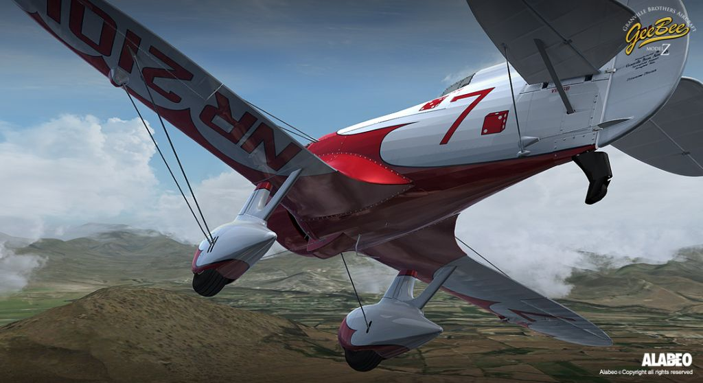 ALABEO - GEE BEE MODEL Z 特技飞机 FSX P3D