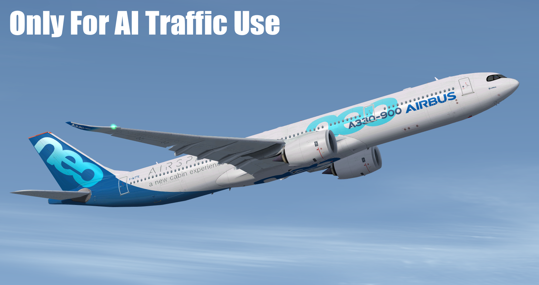 FSPXAI - AIRBUS A330NEO FOR FSX/P3D AI-TRAFFIC