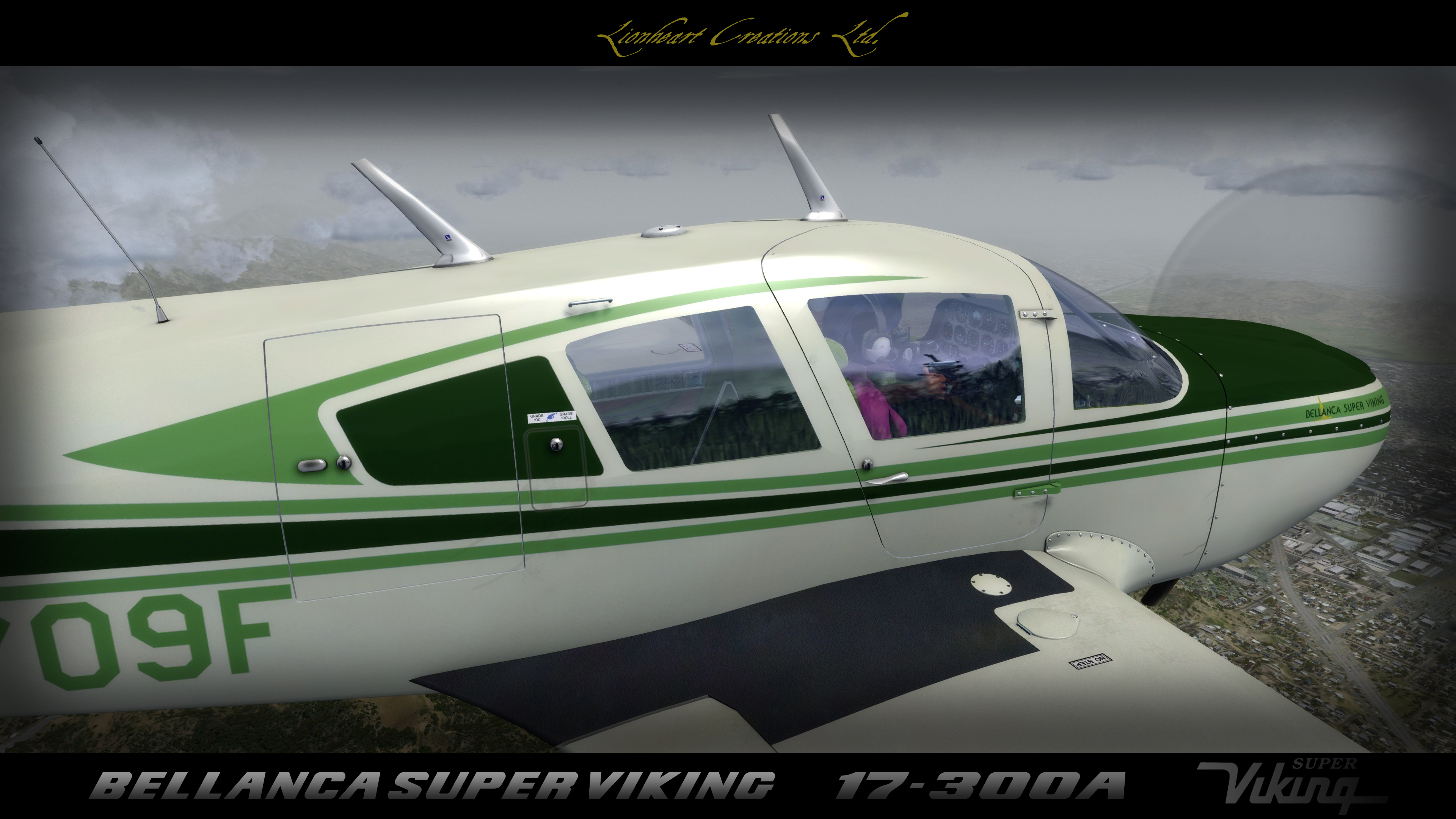 LIONHEART CREATIONS - SUPER VIKING 17-300A FSX P3D1-4