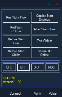 FLIGHT SIMULATOR INNOVATIVE ADDONS - FIRST OFFICER  AIRLINE EDITION MSFS