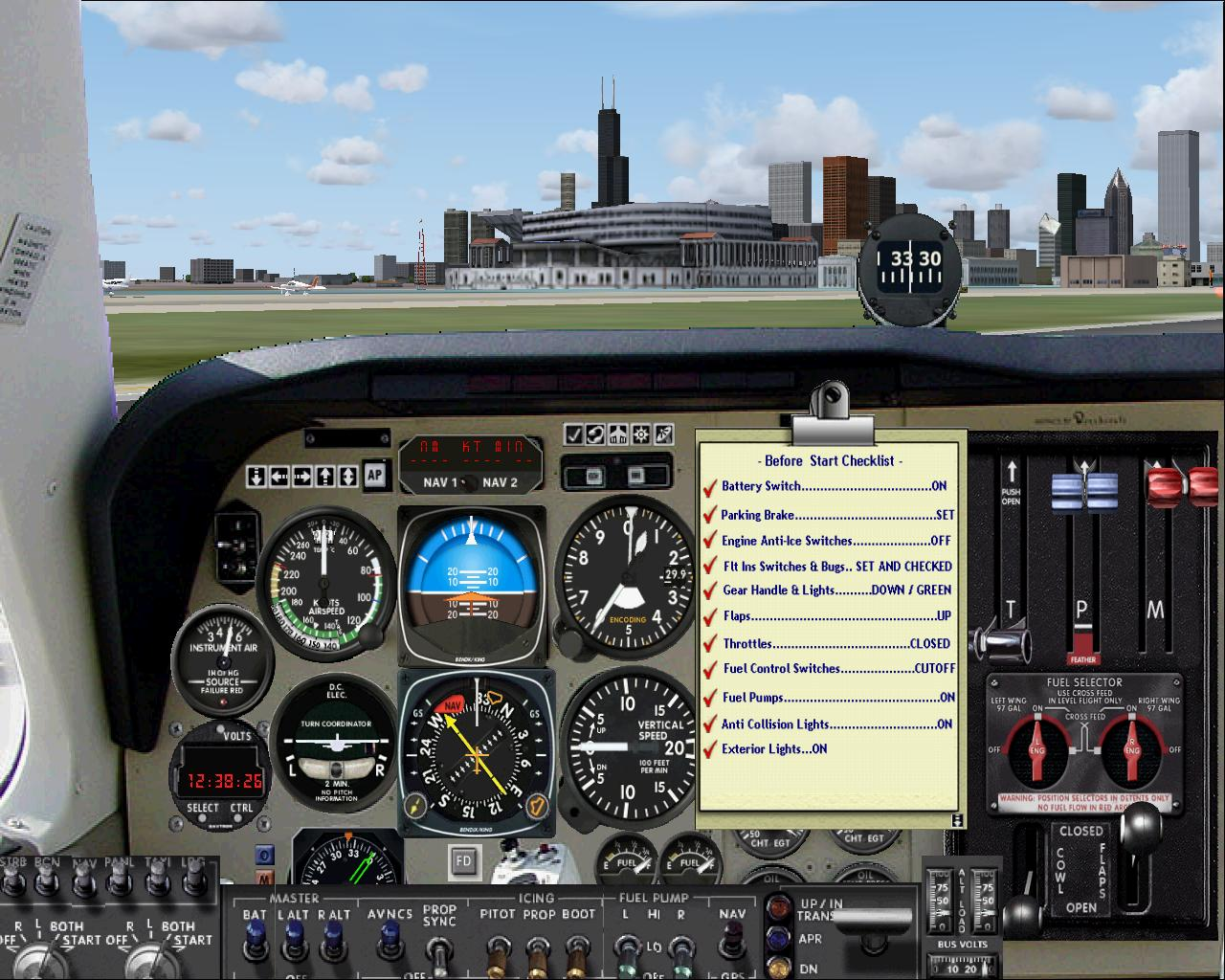 PERFECT FLIGHT - FLY THE BEECH BARON 58