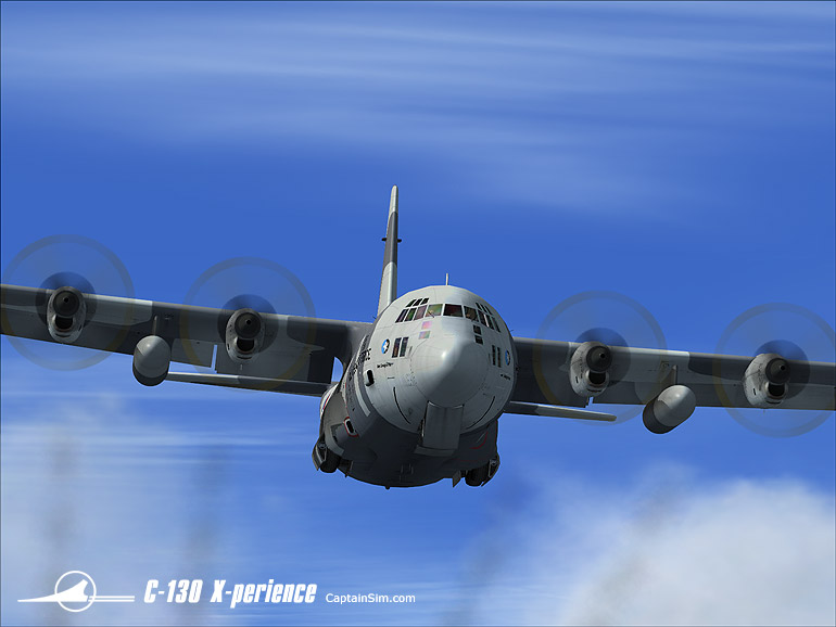 CAPTAIN SIM - C-130 X-PERIENCE EXTRA PACK II