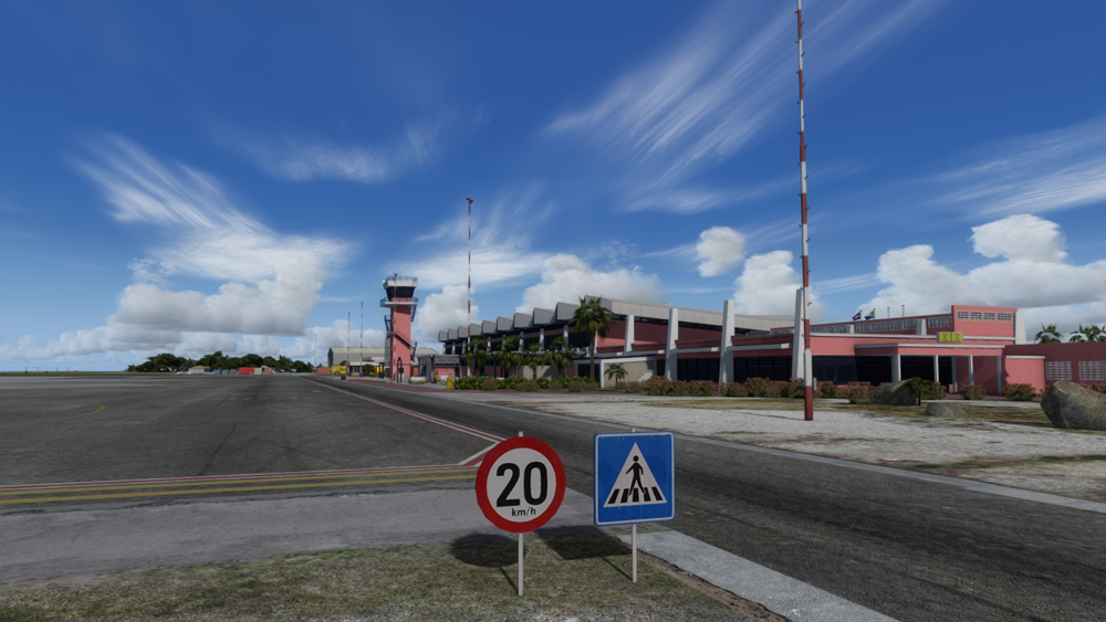 AEROSOFT - BONAIRE FLAMINGO AIRPORT X  FSX P3D (DOWNLOAD)