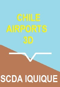 CHILE AIRPORTS 3D - DIEGO ARACENA INTERNATIONAL FSX P3D