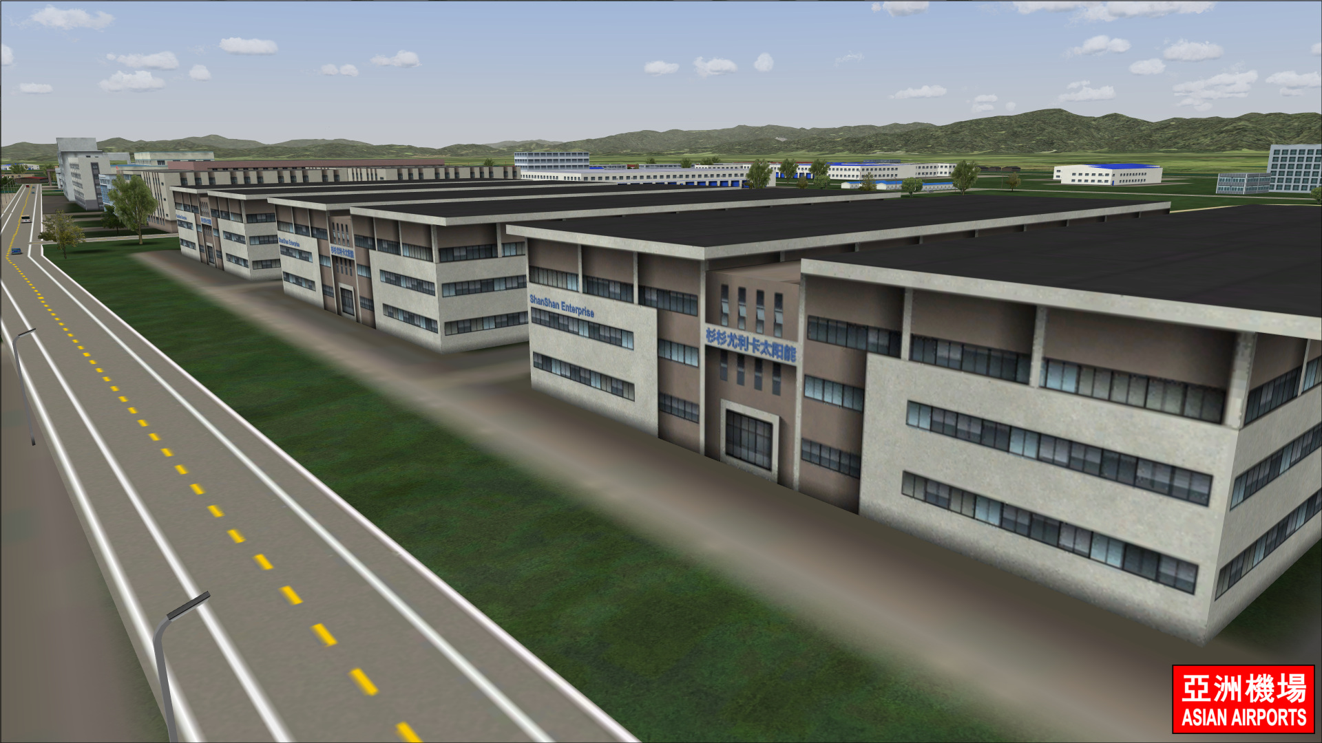 ASIAN AIRPORTS - NINGBO LISHE INTERNATIONAL ZSNB P3D4