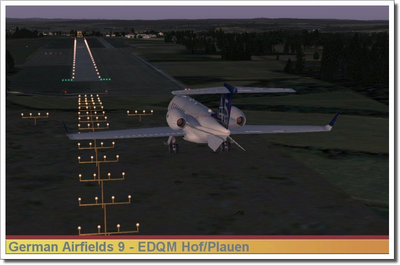 AEROSOFT - GERMAN AIRFIELDS 9 - NORTHERN BAVARIA (DOWNLOAD)