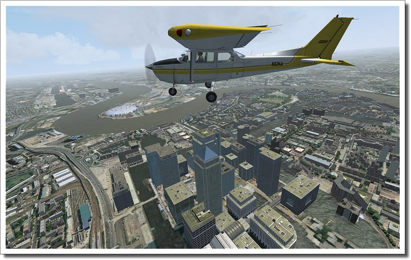 AEROSOFT - VFR LONDON X (DOWNLOAD)