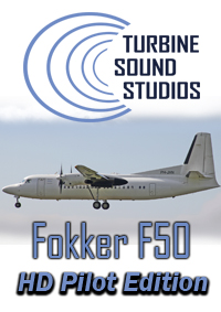 TURBINE SOUND STUDIOS - FOKKER F-50 PW-125B HD PILOT EDITION SOUNDPACK FOR FS2004