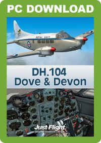 JUSTFLIGHT - DH.104 DOVE & DEVON FSX P3D