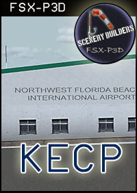 FSXCENERY -   KECP THE NORTH FLORIDA BEACHES INTERNATIONAL AIRPORT FSX P3D