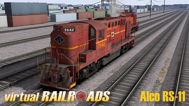 VIRTUAL RAILROADS - ALCO RS-11 ROAD SWITCHER