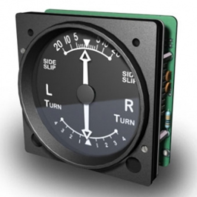 FI - GSA68 - VINTAGE TURN/SLIP INDICATOR FOR SPITFIRE OR OTHER VINTAGE AIRCRAFT