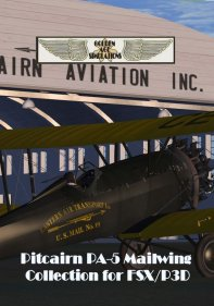 GOLDEN AGE - PITCAIRN PA-5 MAILWING AND SPORT MAILWING COLLECTION FSX P3D