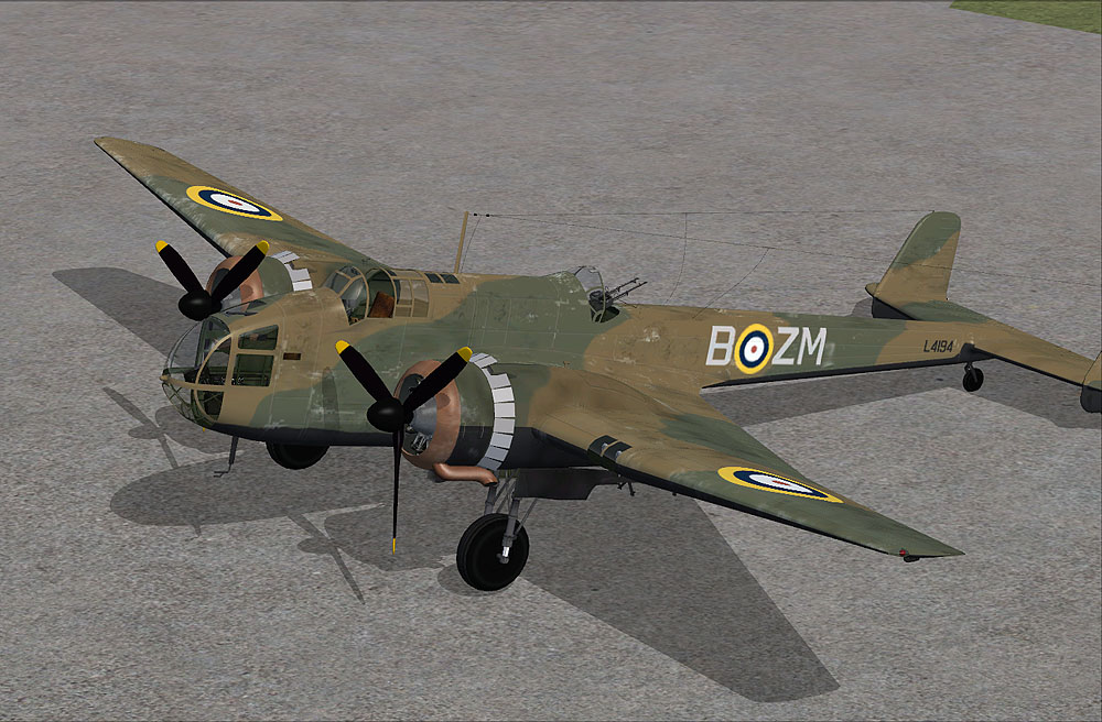VIRTAVIA - HANDLEY-PAGE HAMPDEN FSX