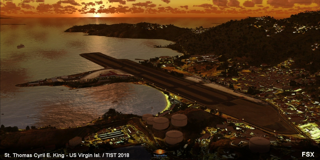 TROPICALSIM - ST THOMAS CYRIL E KING TIST 2018 FSX P3D