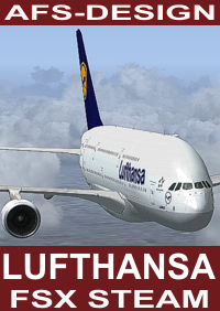 AFS-DESIGN - LUFTHANSA AIRBUS V2 FSX-STEAM