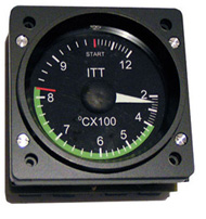 FI - GSA47 - SMALL ITT TEMPERATURE GAUGE
