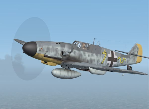 FLIGHT REPLICAS DONATIONWARE - MESSERSCHMITT BF-109G6