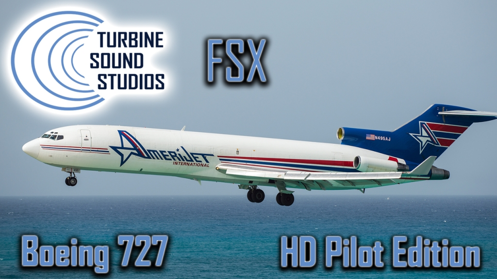 TURBINE SOUND STUDIOS - BOEING 727 HD PILOT EDITION SOUNDPACK FOR FSX