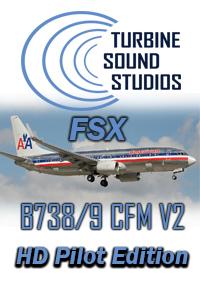 TURBINE SOUND STUDIOS - BOEING 737-800/900 CFM56-7B27 HD PILOT EDITION V2 SOUNDPACK FOR FSX