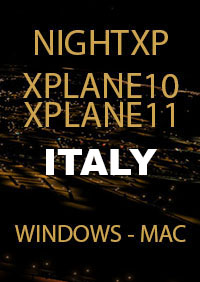 TABURET - NIGHT XP ITALY FOR X-PLANE 10/11