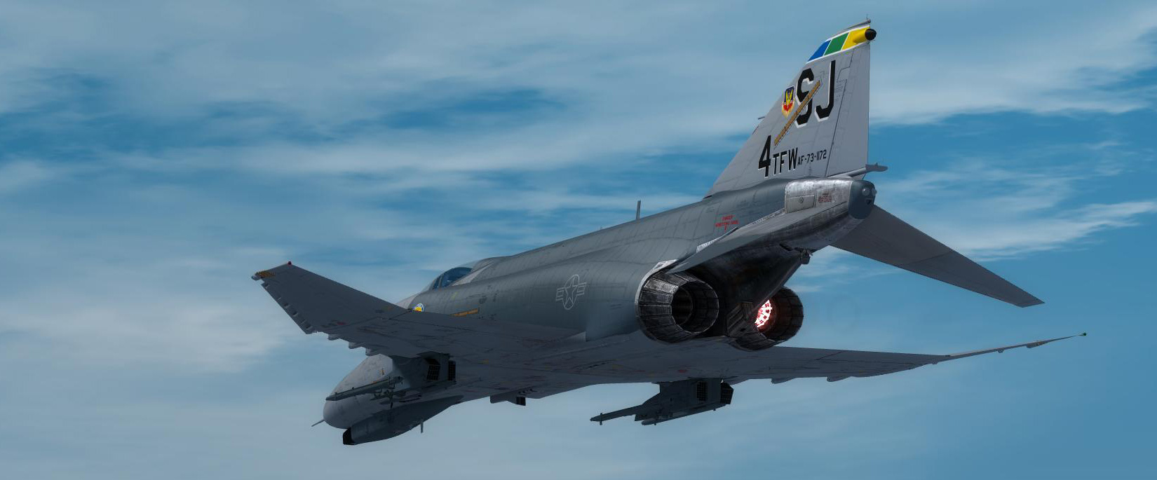 MILVIZ - ADVANCED SERIES F-4E 鬼怪式战斗机 II 高级版 FSX P3D