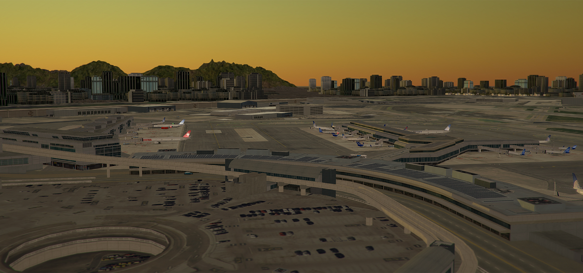 NYERGES DESIGN - REAL COLOR KSFO FOR TOWER! 3D