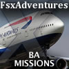 FSXADVENTURES - BRITISH AIRWAYS MISSION PACK