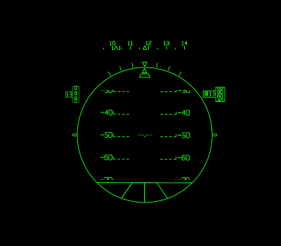 FLY REAL HUDS - BUSINESS JET HUD