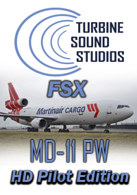 TURBINE SOUND STUDIOS - MD-11 PW PILOT EDITION SOUNDPACK FOR FSX