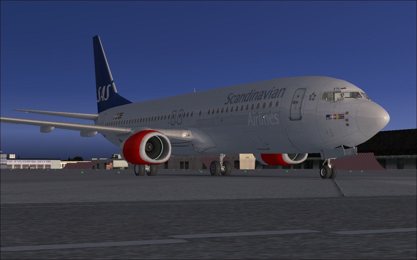 PERFECT FLIGHT - FLIGHT OPERATIONS X - SCANDINAVIAN AIRLINES - FSX