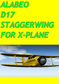 ALABEO - D17 STAGGERWING X-PLANE 10