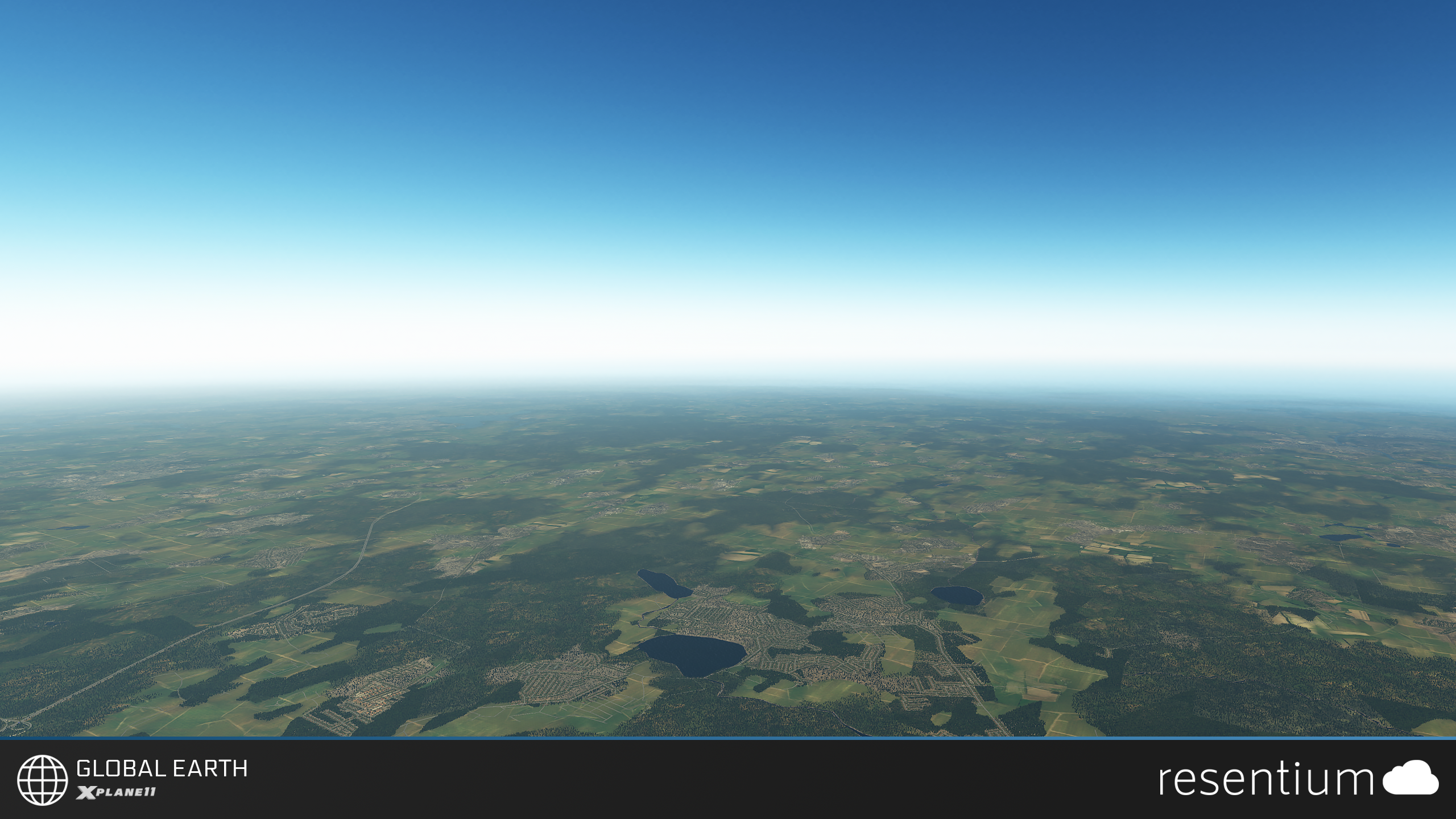 RESENTIUM.COM LTD. - GLOBAL EARTH 纹理美化工具 X-PLANE 11