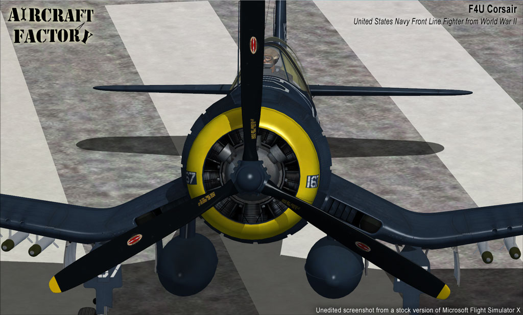 AIRCRAFT FACTORY - F4U CORSAIR