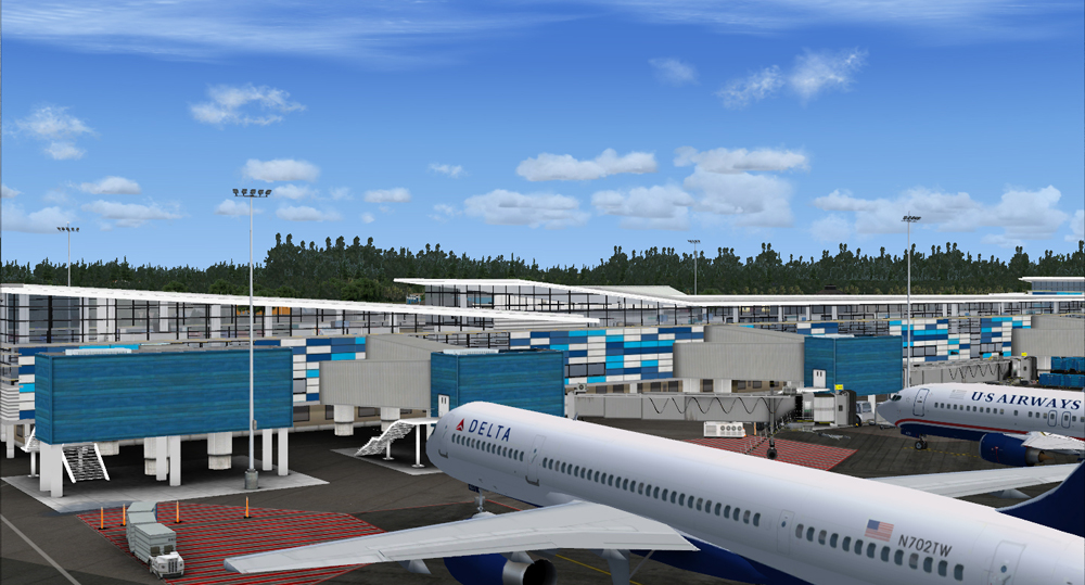 AEROSOFT - NASSAU X - BAHAMAS INTERNATIONAL AIRPORT FSX P3D
