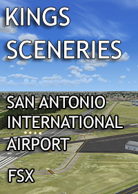 KINGS SCENERIES - SAN ANTONIO INTERNATIONAL AIRPORT FSX