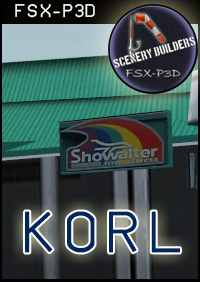 FSXCENERY -  KORL ORLANDO EXECUTIVE AIRPORT FSX P3D