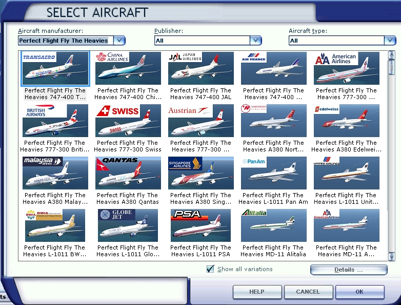 PERFECT FLIGHT - FLY THE HEAVIES EXTENDED EDITION FSX