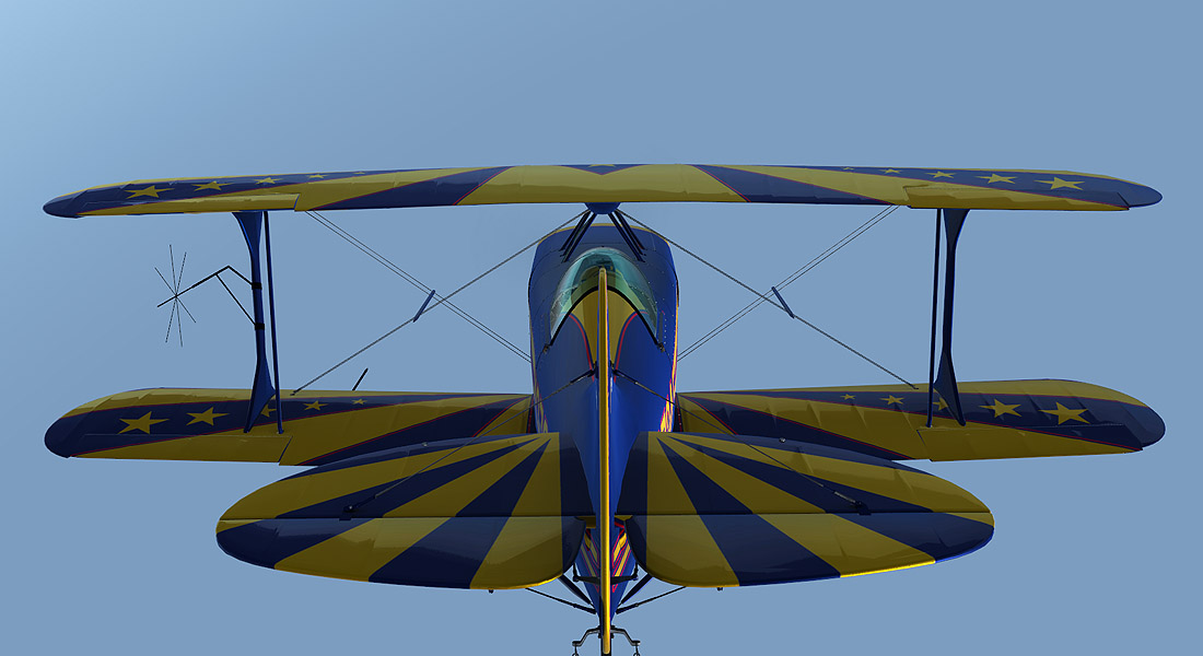 ALABEO - PITTS S-2S FSX P3D