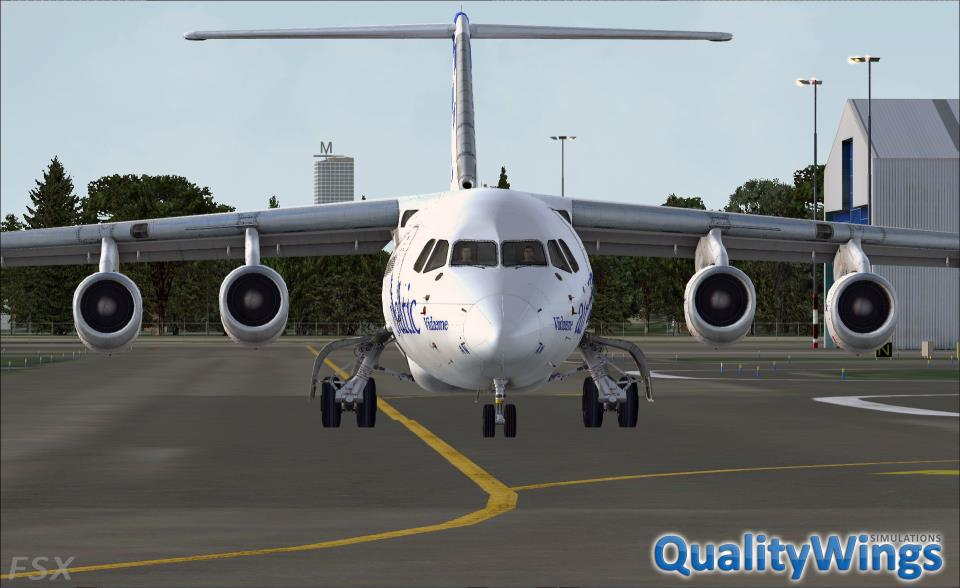 FLIGHT 1 - QUALITYWINGS SIMULATIONS - THE ULTIMATE 146 COLLECTION P3DV4
