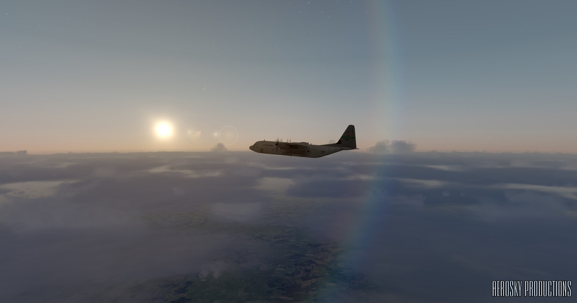 AEROSKY PRODUCTION - ALTERNATIVE SHADERS FOR P3D 4.5